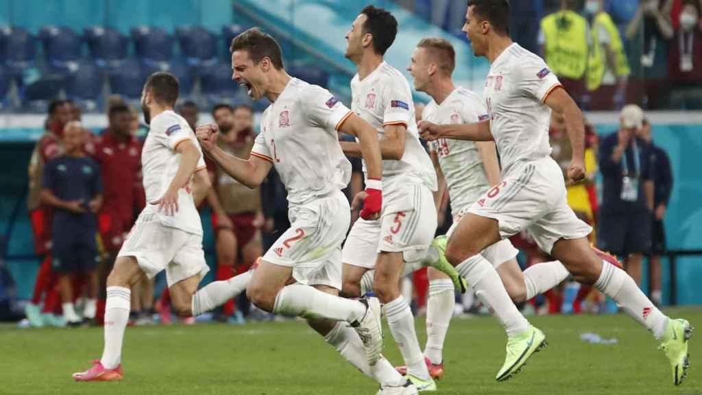 Semifinal España Italia
