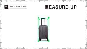 Cómo medir la maleta con el móvil usando realidad aumentada