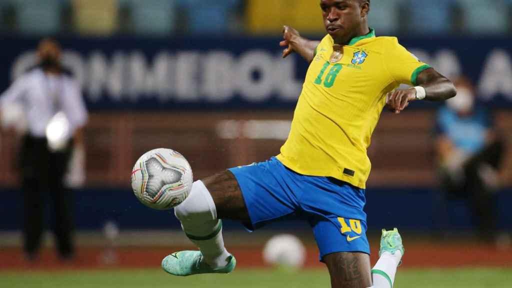 Vinicius, con Brasil