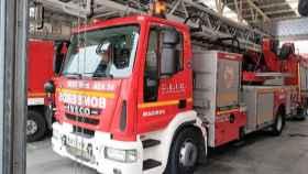 Un camión de bomberos. Imagen de recurso.