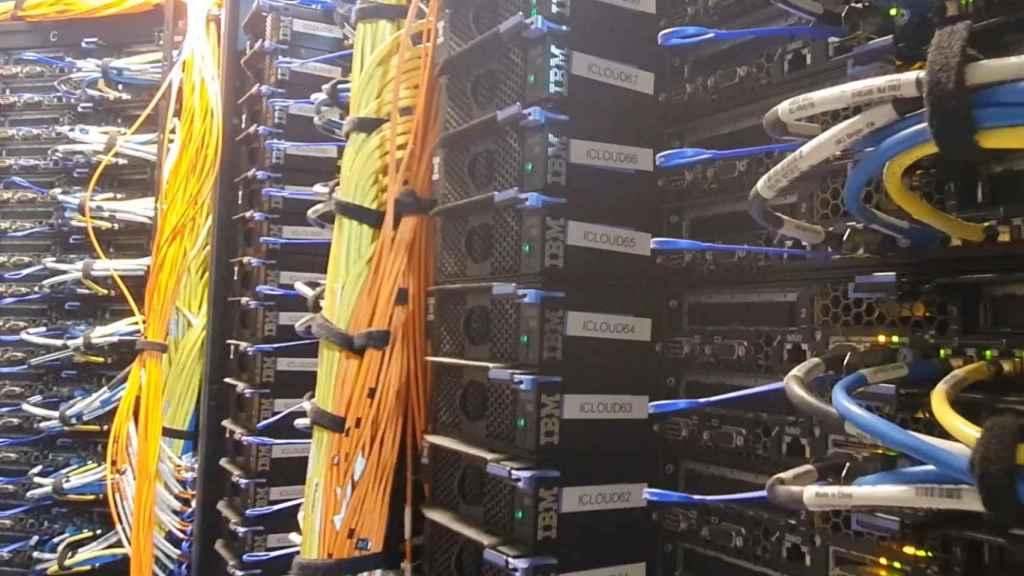 Detalle de la plataforma de computación del IFCA. FOTO: IFCA