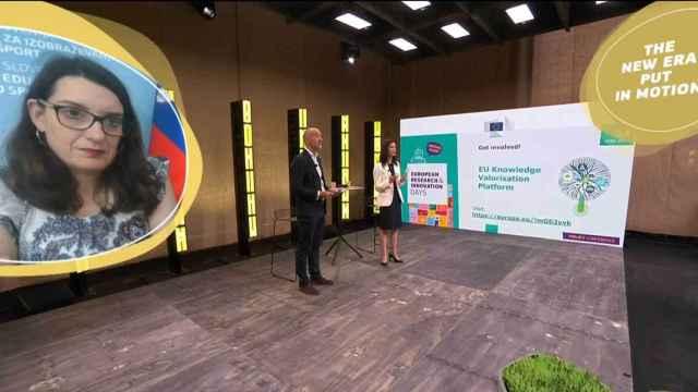 Acto de presentación de la 'Knowledge Valorisation Platform' de la Comisión Europea