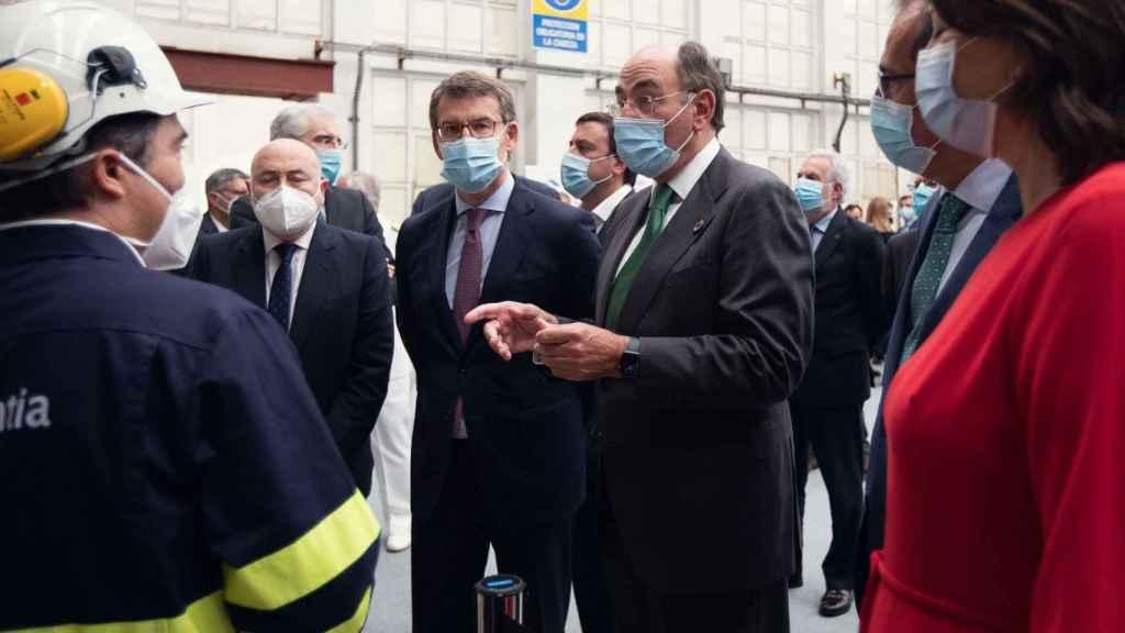 Iberdrola acuerda con Navantia y Windar nuevos proyectos de eólica marina por 400 millones