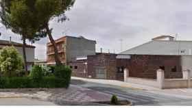 Calle Santa Cruz de La Puebla de Almoradie