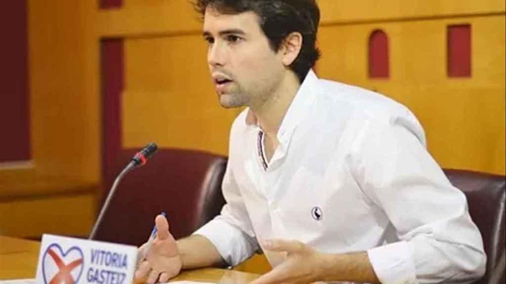 Iñaki García Calvo, exconcejal del PP en Vitoria.