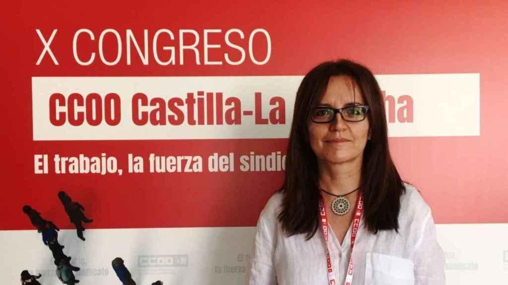 María Ángeles Castellanos, secretaria de Políticas Sociales, Agenda 2030 y Empleo en CCOO-CLM