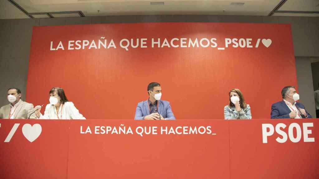 El Comité Federal del PSOE.