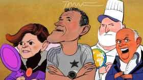 La jeta del showman, la concordia de José Andrés, Luis Enrique y los catalanes