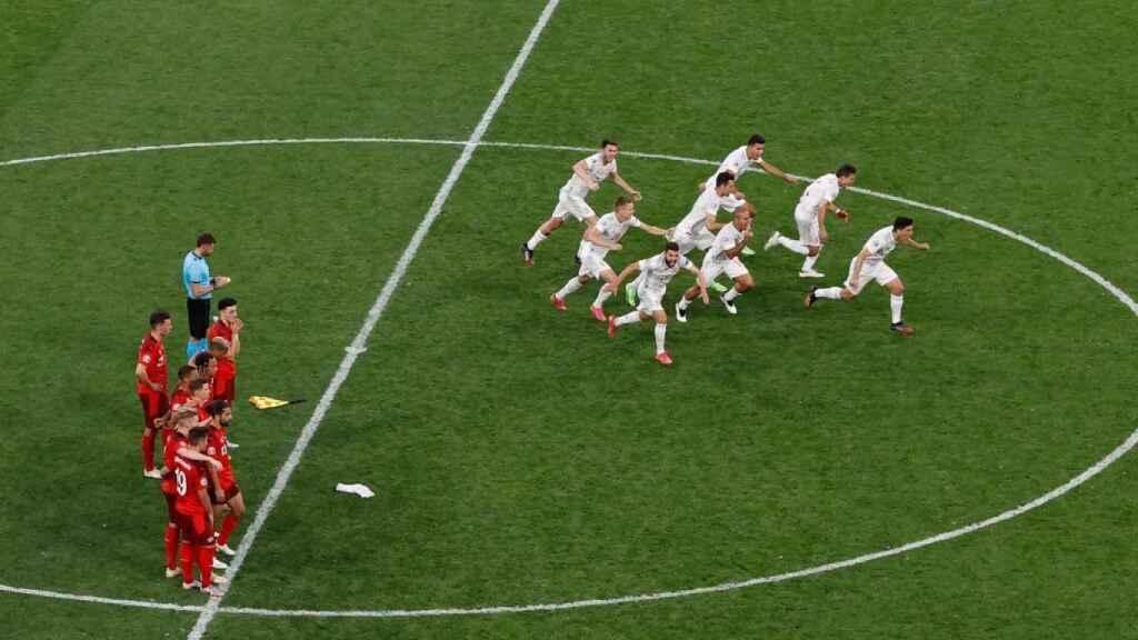 Audiencias: los penaltis del Suiza-España barren en Telecinco con más de 9 millones