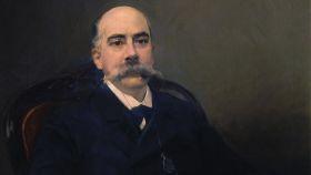 Emilio Castelar, retratado por Joaquín Sorolla.