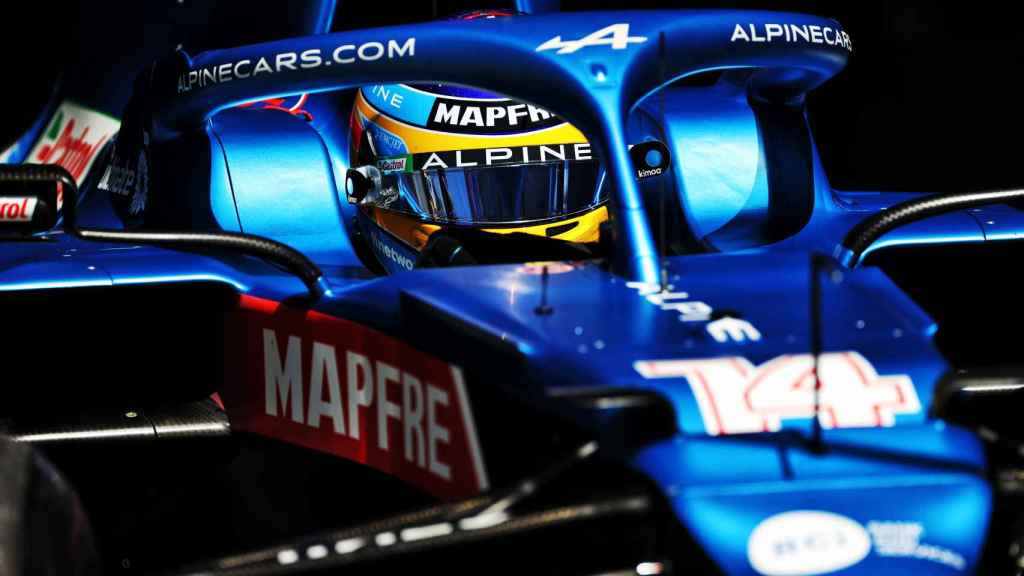 Fernando Alonso en el Gran Premio de Austria de Fórmula 1