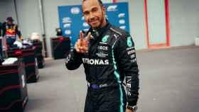 Lewis Hamilton, con Mercedes