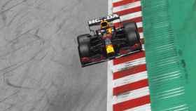 Max Verstappen, durante el GP de Austria