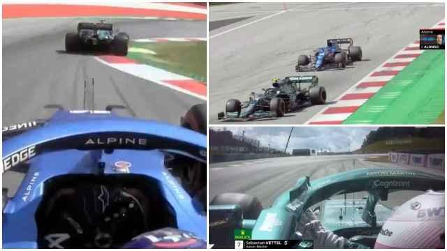 Fernando Alonso explotó con Vettel que le arruinó el fin de semana: ¡Pero qué cojones!