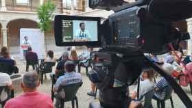 Nacho Hernando durante su intervención en el acto del PSOE en Torrijos