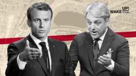 Emmanuel Macron, presidente de Francia y Luca de Meo, CEO de Renault.