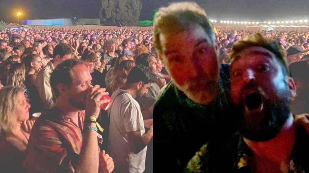 Mi noche de fiesta con Jordi Cuixart en el primer festival sin distancia de seguridad.