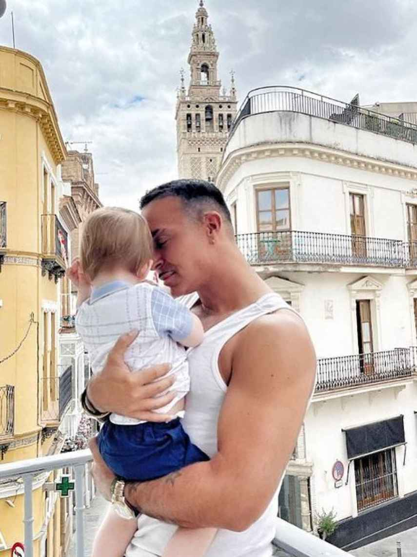Luis Rollán adora los niños y lleva muchos años pensando en la paternidad.