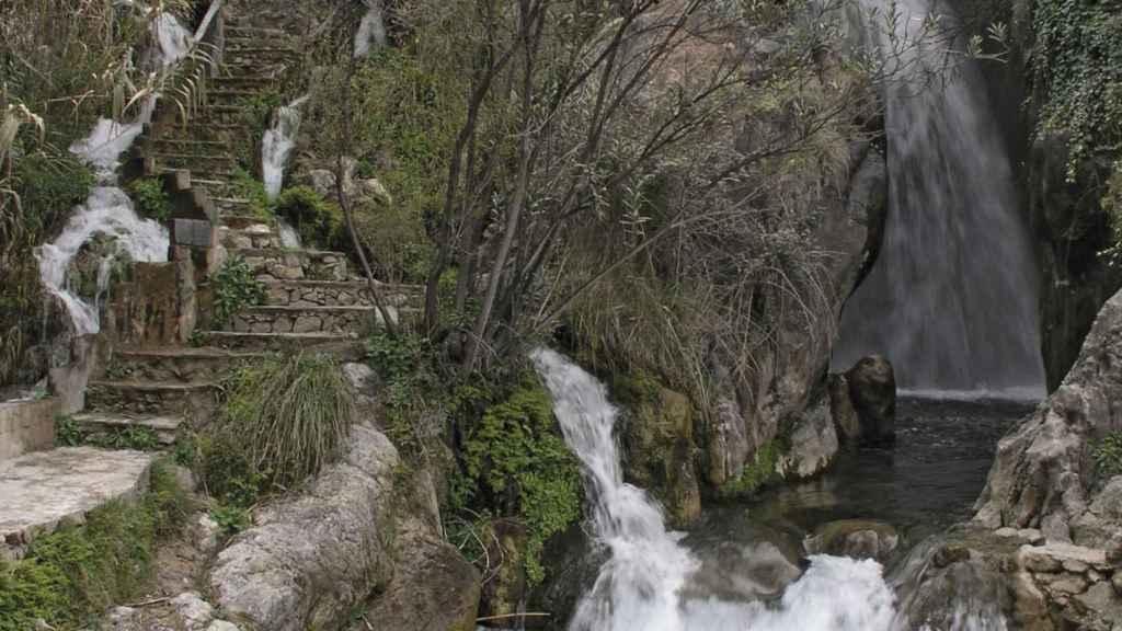 Las Fuentes del Algar son uno de los sitios más visitado de Callosa.