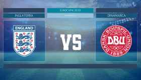Horario internacional y dónde ver el Inglaterra - Dinamarca de la Eurocopa 2020