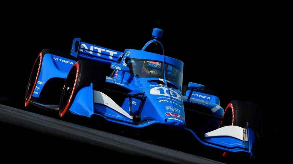 Álex Palou en el circuito de Mid Ohio