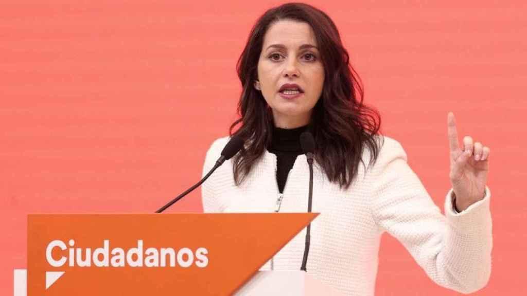 Inés Arrimadas, líder estatal de Ciudadanos.