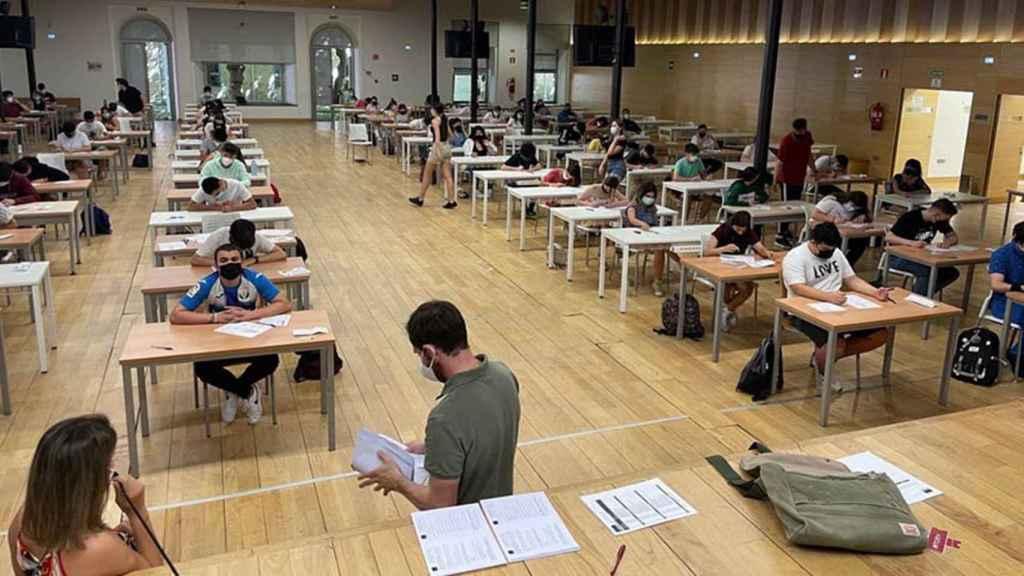 Aprueba la fase extraordinaria de la EvAU el 81,50% de los estudiantes de Castilla-La Mancha