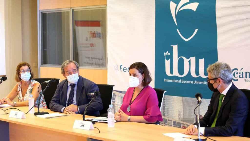 Presentación en Toledo de la nueva escuela internacional de negocios IBU