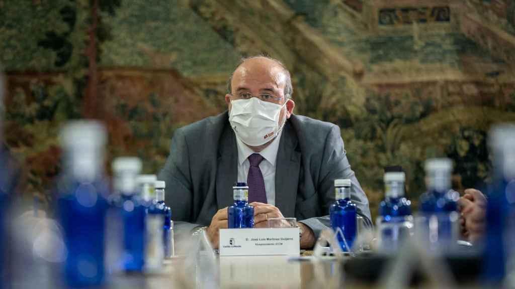 José Luis Martínez Guijarro, vicepresidente regional. Foto: Gobierno de Castilla-La Mancha