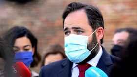 Paco Núñez, este lunes en Toledo