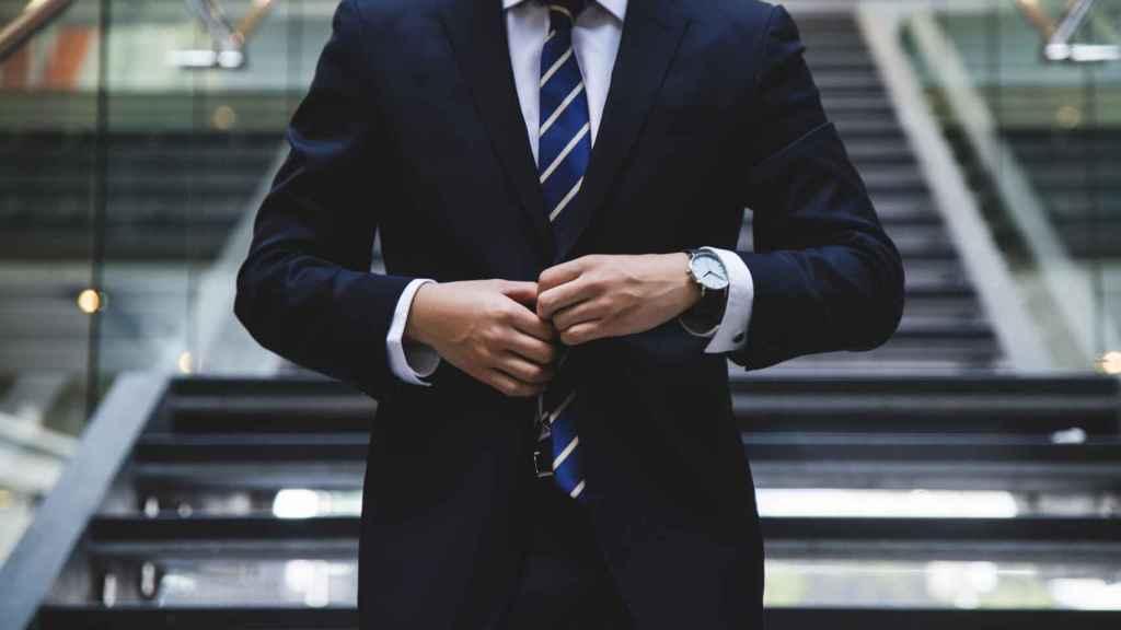 Un ejecutivo.