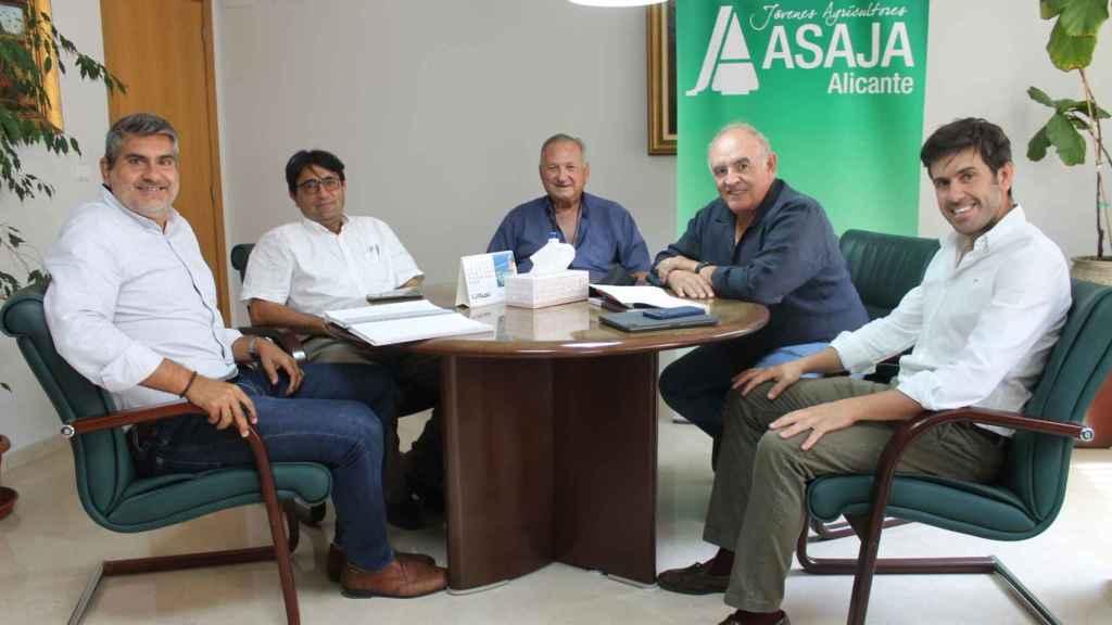 Una imagen de la reunión celebrada en Alicante