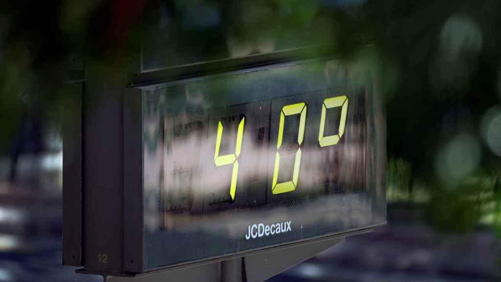 Los más de 40º C este domingo recuerdan el peligro de las altas temperaturas.