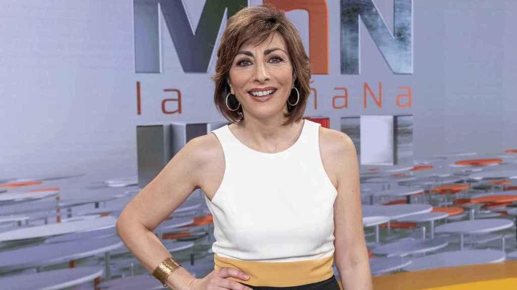 Mamen Asencio es una reconocida figura de RNE que ha demostrado su buen hacer en televisión.
