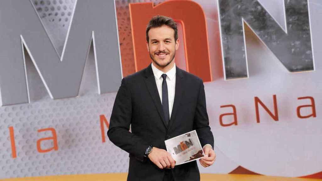 Diego Losada tiene una larga trayectoria en TVE a pesar de su juventud.