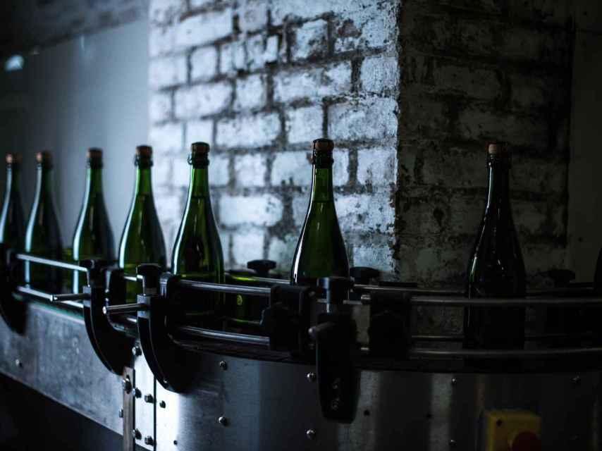 Bodega de champagne.