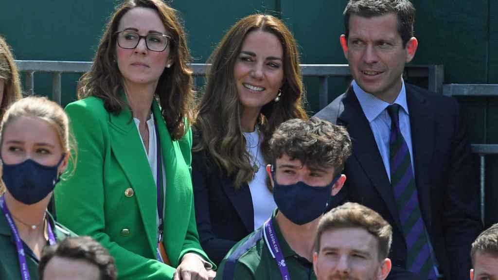 Kate Middleton en el campeonato de Wimbledon.