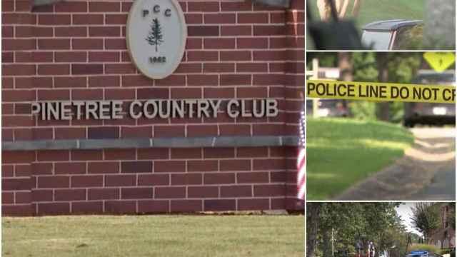 Asesinato en un club de golf de Estados Unidos