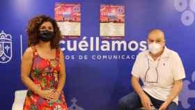Mari Luz Fresneda y Francisco Santos han presentado la 'Noche de Velas'