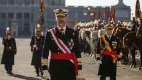 El Rey Felipe VI en una imagen de archivo.