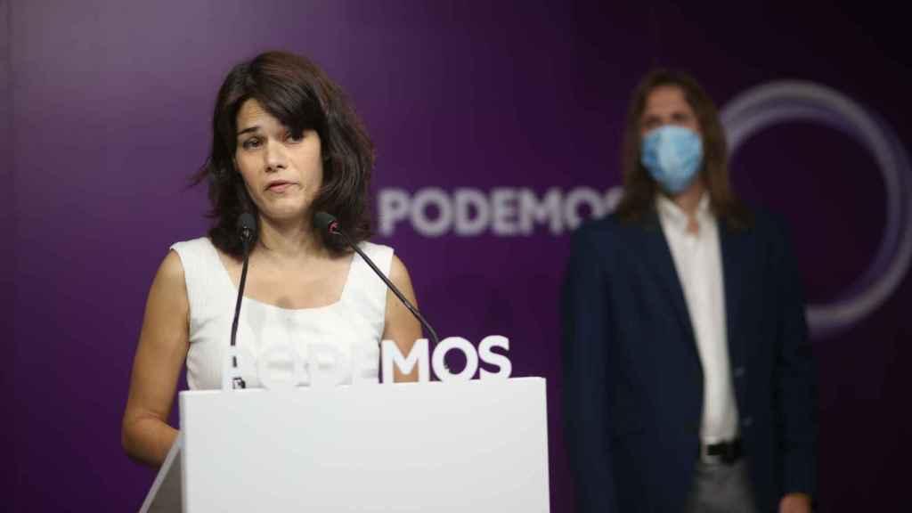 La exportavoz de Podemos en la Asamblea de Madrid, Isa Serra.