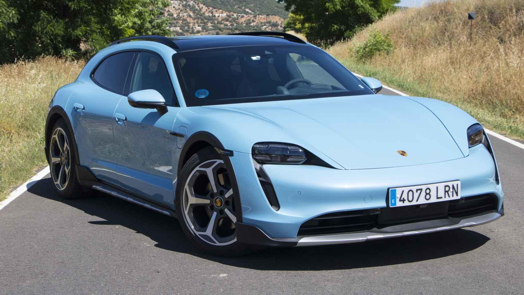Porsche Taycan Cross Turismo: galería de fotos