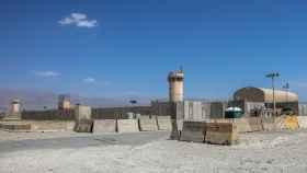 Vista general de la base aérea estadounidense de Bagram, en Afganistán
