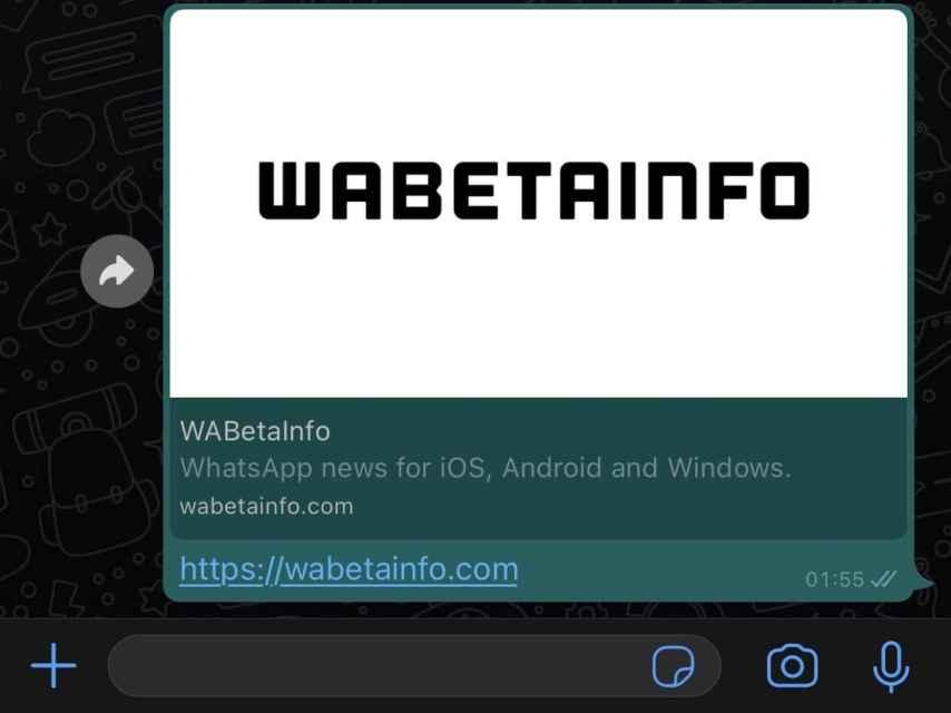 WhatsApp previsualizacion grande