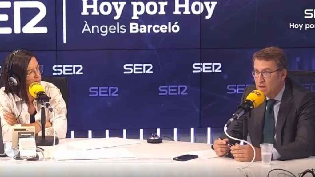 El presidente de la Xunta de Galica, Alberto Núñez Feijóo, este martes en la SER.