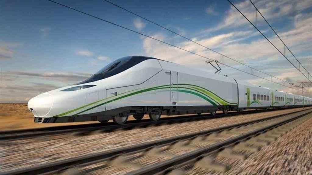 Imagen de archivo de un tren AVE