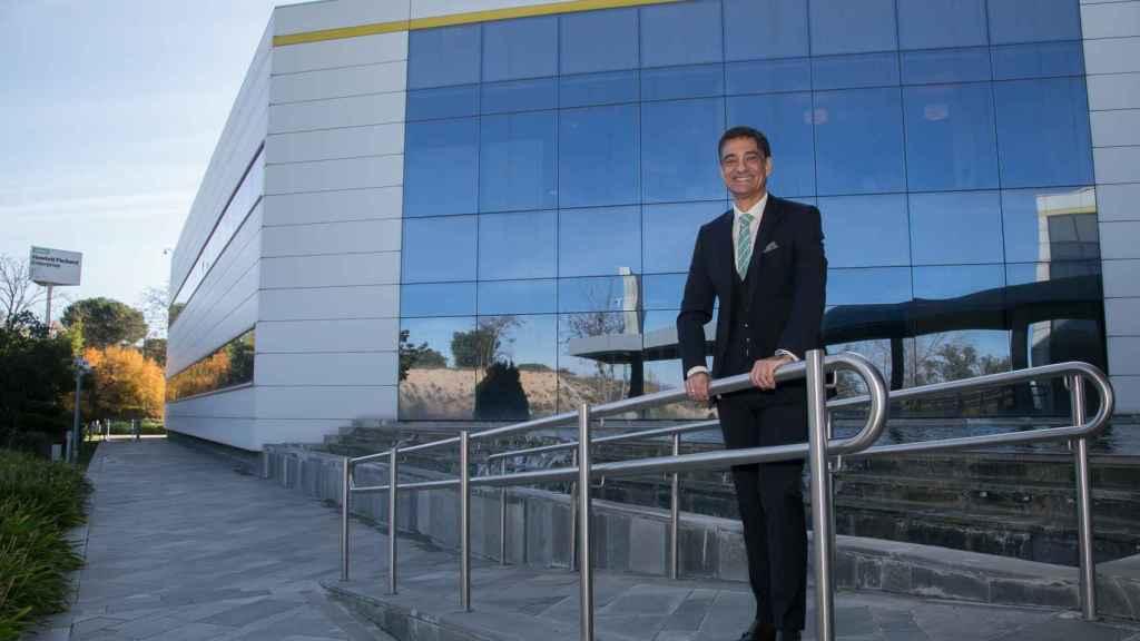 José María de la Torre, presidente de Hewlett Packard Enterprise en España, en la sede de la empresa en Las Rozas.