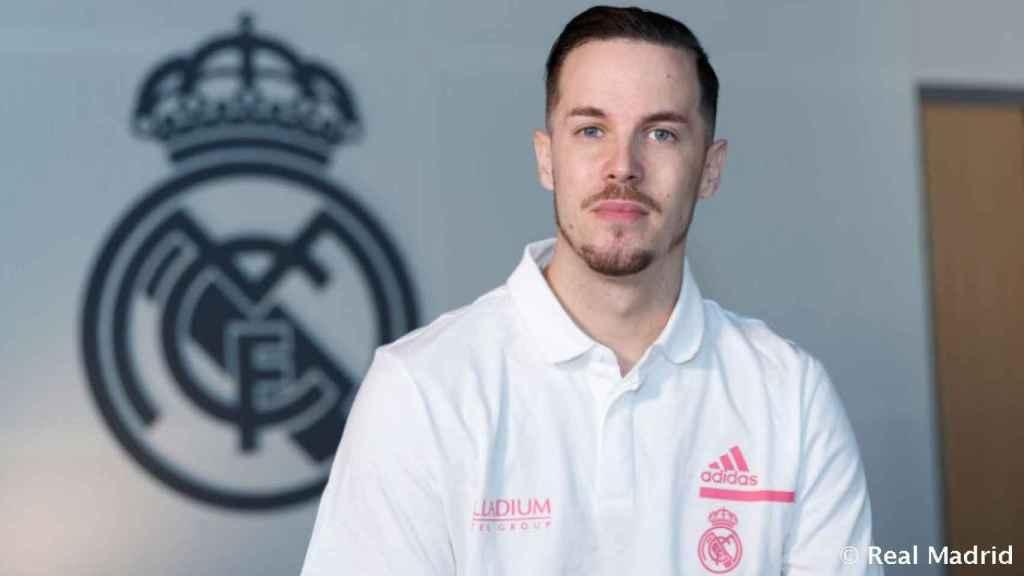 Thomas Heurtel, presentado con el Real Madrid