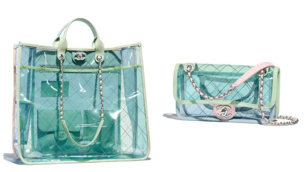 Dos de las versiones del bolso 'Chanel Coco Splash'.