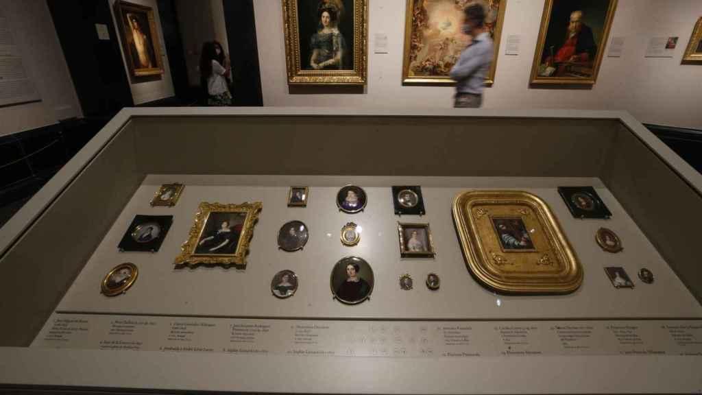 Sala dedicada al Neocliasicismo en España del Museo del Prado donde este martes tiene lugar la presentación del nuevo discurso de la colección del siglo XIX.